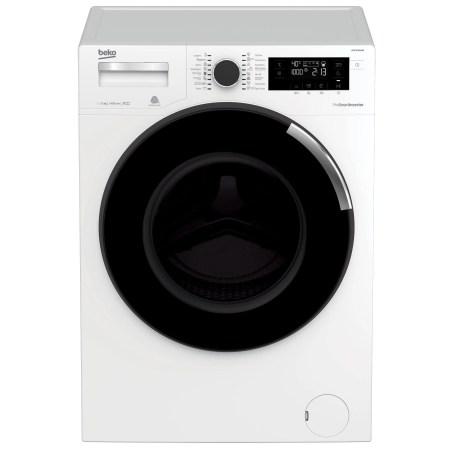 Masina de spalat rufe Beko WTE10744XW0, Premium Line, 10 kg, 1400 RPM, Optisense, MotorProSmart Inverter, Clasa A+++, 60 cm, Alb