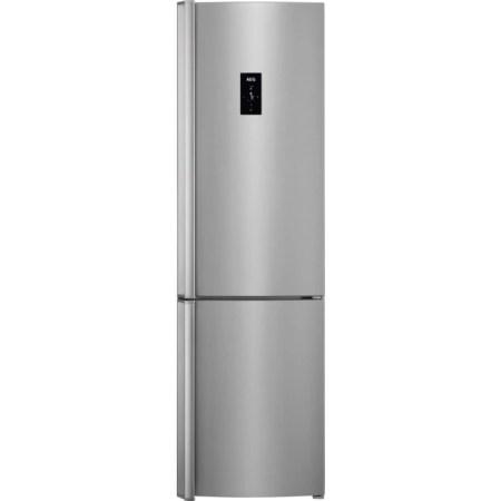 Combina frigorifica AEG RCB83724MX, 341 l, Clasa A++, Touch control, H 200 cm, Inox