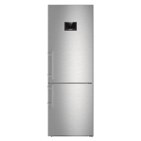Combina frigorifica Liebherr CBNPes 5758, 381 l, Clasa A+++, No Frost, H 201 cm, Inox