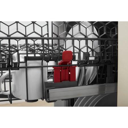 Masina de spalat vase Whirlpool WSFO3O34PFX, 10 seturi, 8 programe, 6th Sense, Power Clean, Clasa A+++, 45 cm, Inox
