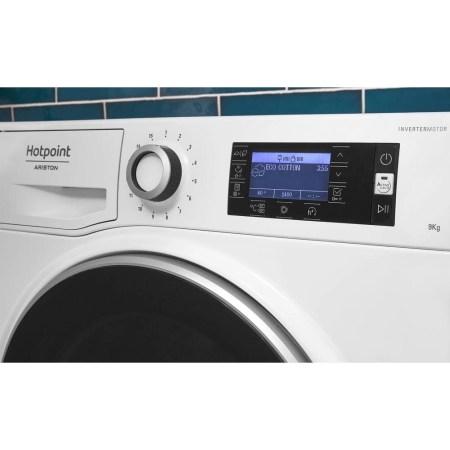 Masina de spalat rufe Hotpoint NLLCD 1165 WD ADW EU, 11 kg, 1600 RPM, Clasa A+++, Sistem Active Care, Sistem Stop&Add, Sistem igienizare aburi, Alb