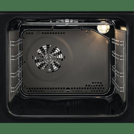Cuptor incorporabil Electrolux EZF5C50Z, Electric, 57 l, Autocuratare catalitica, Grill, Timer, SurroundCook, Clasa A, Negru