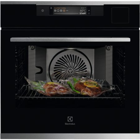 Cuptor incorporabil Electrolux KOAAS31WX, Electric, Multifunctional, 70 l, SteamPro, SousVide, WIFI, Touch control, Grill, Clasa A++, Inox/Negru