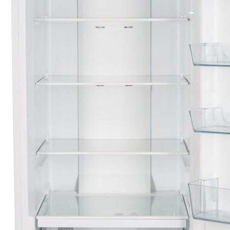 Combina frigorifica Heinner HCNF-M295WA+, 295 l, Clasa A+, Full No Frost, Display interior, Control electronic, H 188 cm, Alb
