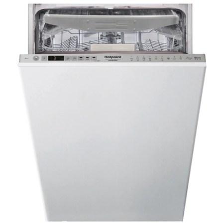Masina de spalat vase incorporabila Hotpoint HSIO3O23WFE, 10 seturi, 9 programe, Motor Inverter, 3D Zone Wash, Clasa A++, 45 cm