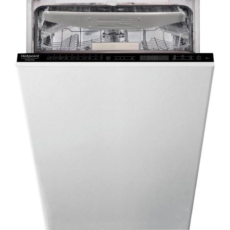 Masina de spalat vase incorporabila Hotpoint HSIP4O21WFE, 10 seturi, 10 programe, Motor Inverter, Touch control, Clasa A++, 45 cm