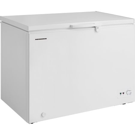 Lada frigorifica Heinner HCF-M295CA+, 290 l, Clasa A+, Sistem Convertibil Frigider/Congelator, Control mecanic, Iluminare LED, Winter Protection, Alb