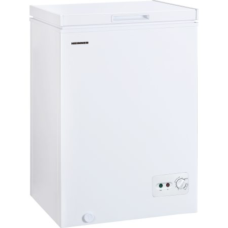 Lada frigorifica Heinner HCF-M99CA+, 99 l, Clasa A+, Sistem Convertibil Frigider/Congelator, Control mecanic, Winter Protection, Alb