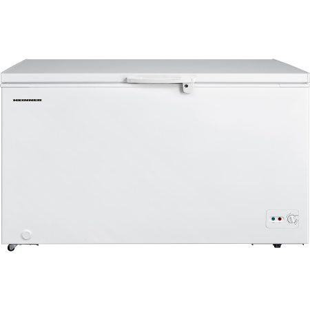 Lada frigorifica Heinner HCF-M418CA+, 418 l, Clasa A+, Sistem Convertibil Frigider/Congelator, Control mecanic, Winter Protection, Alb