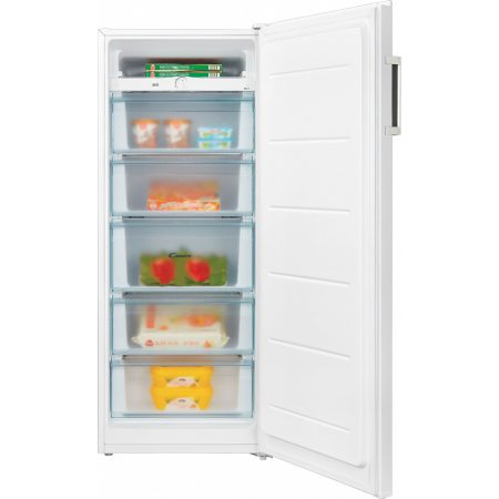 Congelator Candy CMIOUS 5142WH, 166 l, 5 sertare, Clasa A+, H 143 cm, Alb