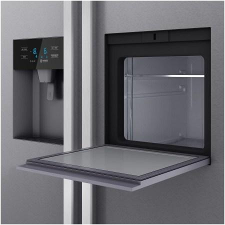 Side by Side Teka RLF 74925 SS, 490 l, Clasa A++, Full No Frost, Display, Dispenser apa/gheata, H 178.8 cm, Inox