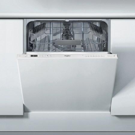 Masina de spalat vase incorporabila Whirlpool WIC3C26P, 14 seturi, 8 programe, Clasa A++, Display Digital, 6-th Sense, PowerClean Pro, Motor Inverter, 60 cm