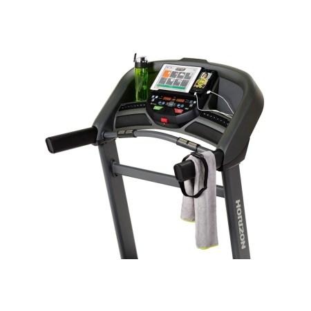 Banda de alergare HORIZON T202- Greutate utilizator 147kg, Putere motor 2.75CP, Inclinare 0-12%, 5 programe antrenament