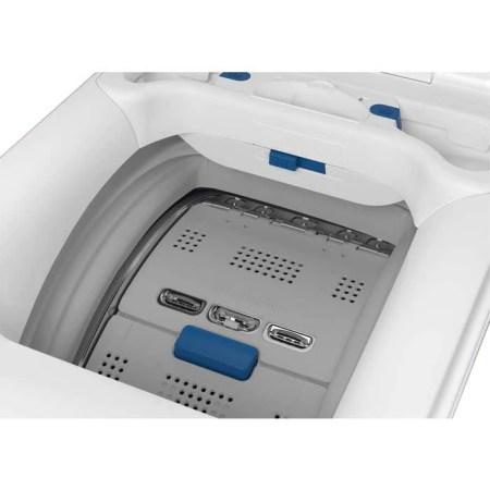 Masina de spalat rufe cu incarcare verticala Electrolux EW7T3272 PerfectCare 700, 7 kg, 1200 RPM, Clasa A+++, SteamCare, SoftOpening, Display LCD, Alb