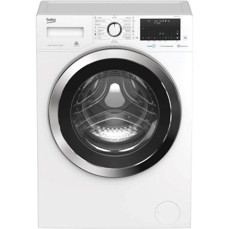 Masina de spalat rufe Slim Beko WUE81436CST, 8 kg, 1400 RPM, Clasa A+++, HomeWhiz, Remote Control, SteamCure, AddGarment, Motor ProSmart Inverter, 60 cm, Alb