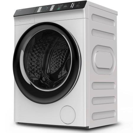 Masina de spalat cu uscator Toshiba TWD-BJ90W4, Spalare 8 kg, Uscare 8 kg, 1400 RPM, Clasa A, Motor inverter, 60 cm, Alb