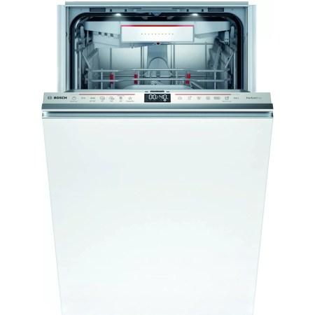 Masina de spalat vase incorporabila Bosch SPV6ZMX23E, 10 seturi, 6 programe, Clasa C, Home Connect, 45 cm