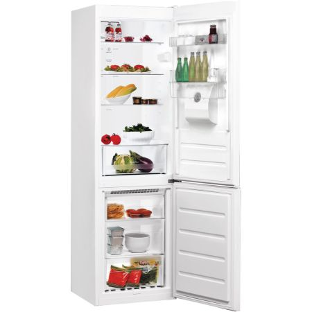 Combina frigorifica Whirlpool BSNF 8101 W Aqua, 319 l, Clasa A+, No Frost, 6th Sense, Dozator apa, H 188.5, Alb