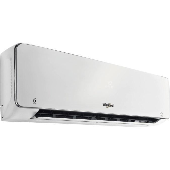 Aparat de aer conditionat Whirlpool SPIW309A3WF20 Premium Wi-Fi, 9000 BTU, Clasa A+++, Filtru Hepa, 4D air flow, Voice control, 6Th Sence, R32