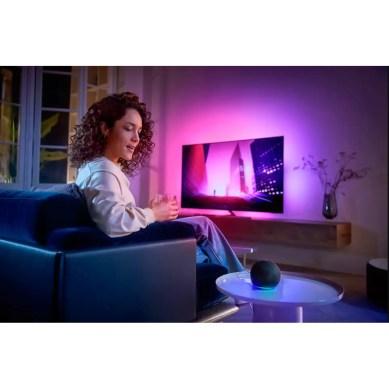 Televizor Philips 55OLED856/12, 139 cm, Smart Android, 4K Ultra HD, OLED, Clasa G