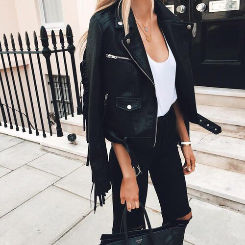 tumblr black model outfits