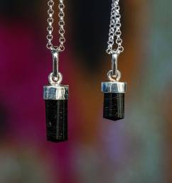 Grade A Black Tourmaline Pendants for supreme gem protection [ 1900 x 1900 Pixel ]