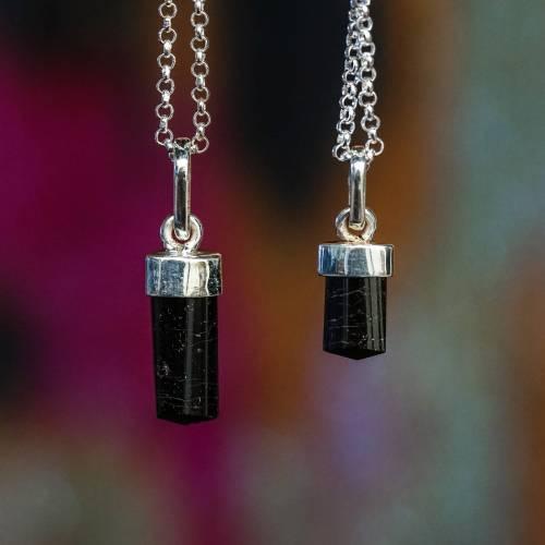 small resolution of Grade A Black Tourmaline Pendants for supreme gem protection