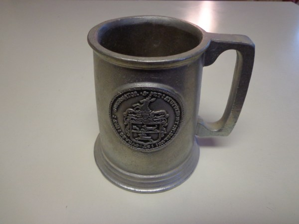 Wilton Armetale Mug-colonial York Dutch West Indian
