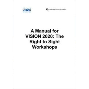 Community Eye Health Journal » Manual for VISION 2020