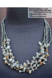 beaded necklace bali indonesia