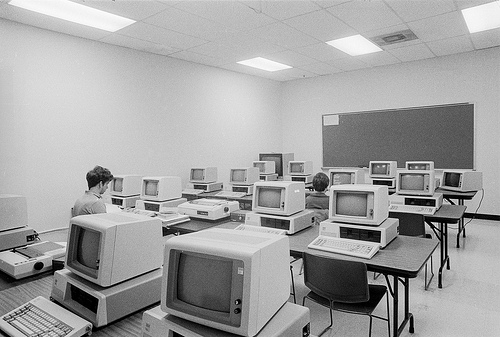 computers in the 80s