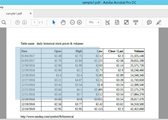 how to extract data from pdf using python
