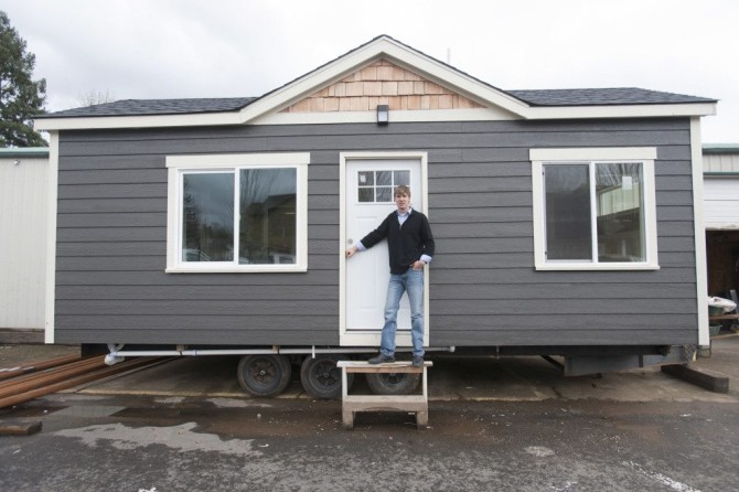 Building momentum for tiny homes The Columbian