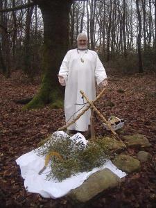 Druide Dwrdan -Solstice d'hiver