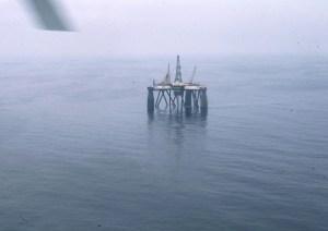 Plateforme pétrolière Sea Quest en mer du Nord, à l'est de l'Ecosse