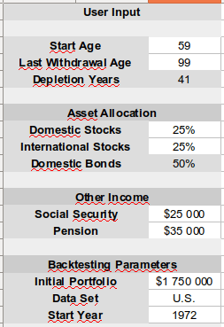 retirement calculator - most that I've seen are missing some things ...