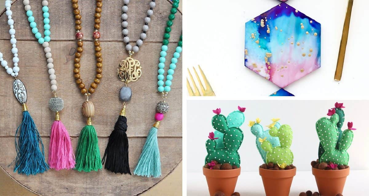 12 easy crafts to