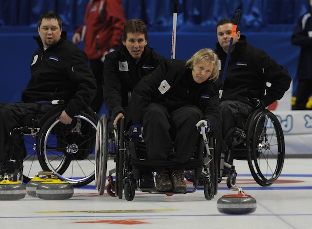 wheelchair olympics chair gym exercises house call curling for everyone wheelchairs special and stick