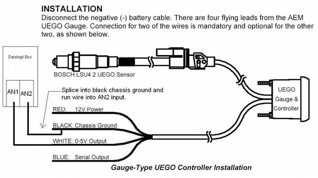 8588_UEGO_installation aem wideband wiring diagram aem wideband wiring diagram at nearapp.co