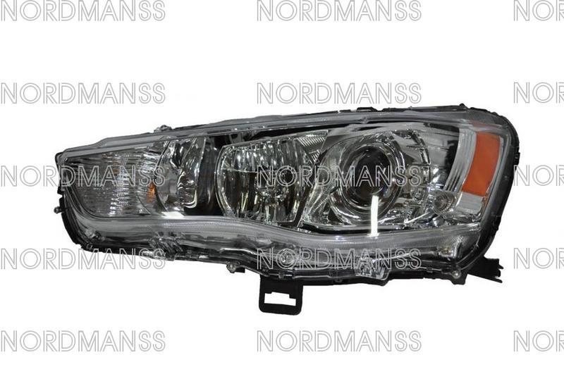 For Mitsubishi Lancer Evolution Evo X Headlights Headlamp
