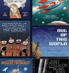 27 Fun Outer Space Books for Kids   Elementary and Middle School [ 2048 x 474 Pixel ]