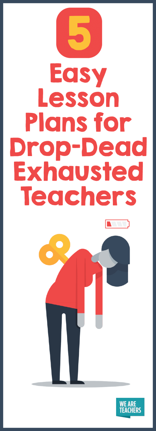 small resolution of 5 Easy Lesson Plans for Drop-Dead Exhausted Teachers - We Are Teachers