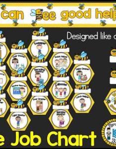 Busy bees job chart also flexible fun and free classroom ideas rh weareteachers