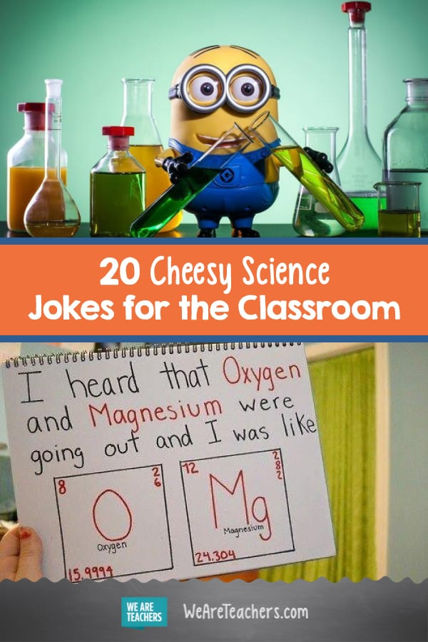 Biology Jokes For Teachers : biology, jokes, teachers, Cheesy, Science, Jokes, Classroom, Teachers