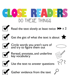 23 Close Reading Anchor Charts That Will Help Your Students Dig Deep [ 1309 x 792 Pixel ]
