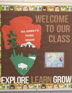 Ode to the national parks bulletin also back school board ideas from creative teachers rh weareteachers
