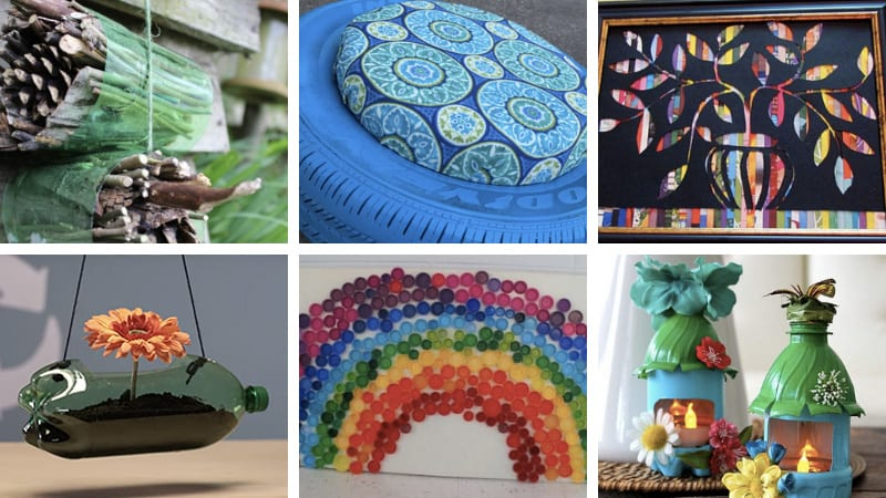 30 Earth Day Crafts With Recycled Materials Weareteachers