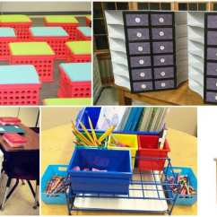 Classroom Organizer Chair Covers Lounge Patio Chairs Student Storage Ideas For Supplies And Equipment