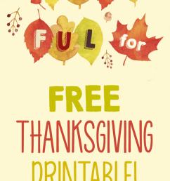 Free Thanksgiving Printable Banner for the Classroom - WeAreTeachers [ 1276 x 735 Pixel ]