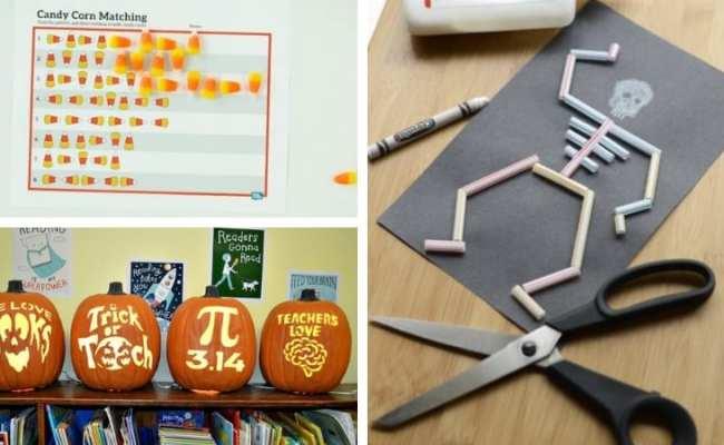 31 Fun Halloween Classroom Crafts Activities And Games